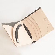 たったの28g ヌーディストnudistエアーウォレットAIRWALLETヴィンテージリバイバルプロダクションズVintageRevivalProductions日本製北欧の白ヌメ革本革二つ折り財布ウォレット