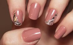 Shattered mirror nails. Cool!