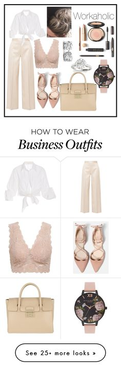 """""""FORMAL WORK WEAR"""" by t0xiccr33p on Polyvore featuring The Row, Johanna Ortiz, Furla, Olivia Burton and WorkWear"""