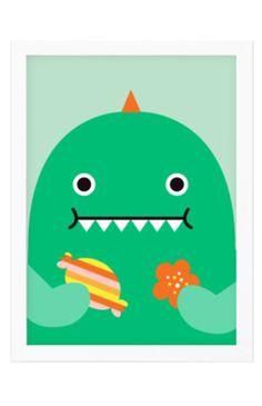 Noodoll Dino Print
