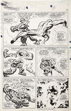 Jack Kirby and Joe Sinnott - Fantastic Four #55, page 11 | Lot #42132 | Heritage Auctions