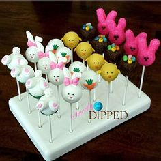 Throwing it back to my some of my favorite Easter cake pops I made last year :) Original carrot design by the talented Easter Cake Pops, Easter Bunny Cake, Easter Cookies, Easter Treats, Bunny Birthday, Birthday Cake, Cake Pop Decorating, Desserts Ostern, Oreo Desserts