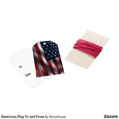 American Flag To and