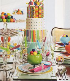 .Home Sweet Living: Yummy Party Theme