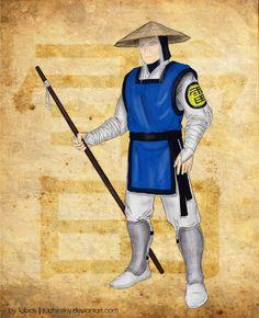 Raiden from Mortal Kombat by torzhinskiy on DeviantArt Lord Raiden, Raiden Mortal Kombat, Samurai, Deviantart, Costumes, Dress Up Clothes, Fancy Dress, Men's Costumes, Samurai Warrior