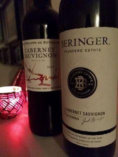 Snob-Off Wine Review Part 2: Baron Philippe De Rothschild Vs. Beringers Founders Estate   Reverse the Crush