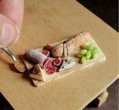 Incredibly Realistic Miniature Food Sculptures Made From Clay