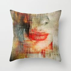 lips,pillow