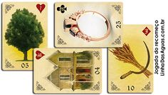 Técnica de abertura com 4 cartas no Baralho Cigano Lenormand. Técnica que mistura a lâmina 5 de copas do Tarot com as cartas do baralho cigano.