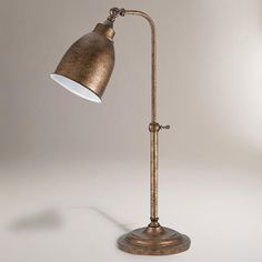 Rust Pharmacy Table Lamp-Rust Pharmacy Table Lamp | World Market