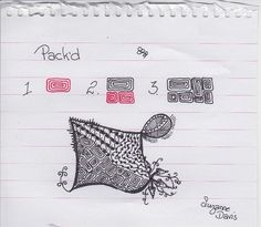 Pack'd~Zentangle