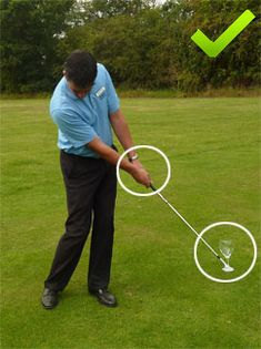 To improve your chipping around the greens a great golf chipping tip can make a huge difference. Here's one great golf chipping tip to visualise that will really help you get up and down around the greens more often.