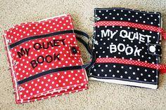Quiet Book : nombreux templates