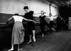 James Dean attending dance classes given by Katherine Dunham, New York City, 1955.