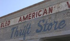 Old Thrift Store