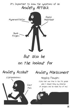 """likea45ballerina: """"alltimebestfriend: """" dictiosus: """" nudityandnerdery: """" givememountaindew: """" Another Anxiety Zine Preview! """" The anxiety harassment thing- I didn't realize that was anxiety for..."""