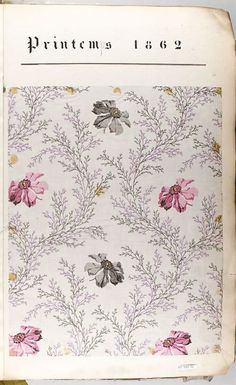 This is the kind of subtle floral design I am looking for with text dominant features. The floral design will cover the entire book. front and back cover.