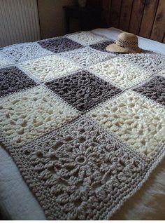 Harika Motifler İle Ek İşi Battaniye Yapımı - http://m-visible.com/harika-motifler-ile-ek-isi-battaniye-yapimi.html