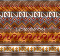 Ateş Adası tarzı örme seamless modeli — Stok Vektör © galagalina19.gmail.com #98284840