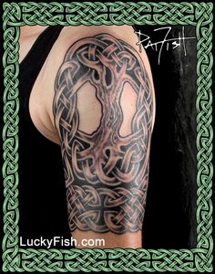 Celtic Tattoo Portfolio — LuckyFish, Inc. and Tattoo Santa Barbara Celtic Band Tattoo, Celtic Sleeve Tattoos, Celtic Cross Tattoos, Sleeve Tattoos For Women, Tattoos For Women Small, Arm Band Tattoo, Tattoo Life, Tattoo Blog, Cover Up Tattoos