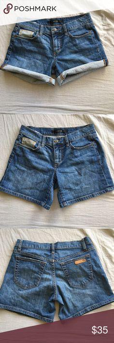 "2/$50 Joe's Jeans shorts 98% cotton, 2% lycra. 5.5"" inseam unrolled Joe's Jeans Shorts Jean Shorts"
