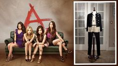 ABC Family - Pretty Little Liars   lace and army jacket