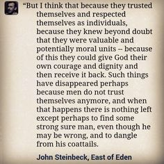 John Steinbeck East of Eden