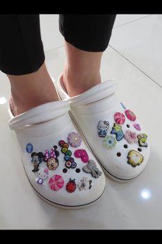 832d63e6b Crocs - you had a dark pink pair a light blue pair. Dress OutfitsCute  OutfitsFashion OutfitsWomens ...