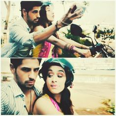 Sidharth malhotra and shraddha kapoor as Guru and aisha in ek villain, aisha's wishes to be famous for a day