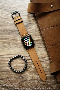 The vast bulk of watches, especially those for men, are just plain dull. Apple Watches For Women, Watches For Men, Apple Watch Series, Apple Watch Bands, Apple Watch Space Grey, Apple Picture, Projection Alarm Clock, Tan Leather, Accessories