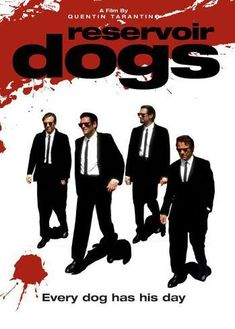 Poster: Reservoir Dogs, 17x11in.