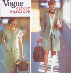 90s Vogue Career Wardrobe Sewing Pattern 2637 by CloesCloset, $11.00