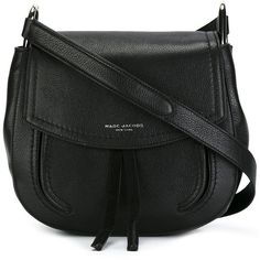 "Marc Jacobs ""Maverick"" Shoulder Bag ($445) ❤ liked on Polyvore featuring bags, handbags, shoulder bags, black, leather shoulder bag, marc jacobs shoulder bag, tassel purse, marc jacobs handbags and shoulder strap purses"