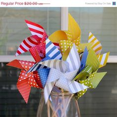 Pinwheels by pickledparlor,