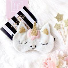 Antifaz para dormir Unicornio sueño máscara de ojo máscara