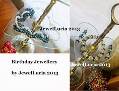 My Birthday Jewellery Set: Necklace, Earrings and Bracelet