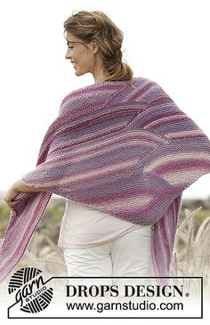 Ravelry: 167-5 Retro Waves pattern by DROPS design