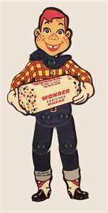 1950's advertisements Wonder Bread Ns Howdy Doody   Mom always bought Wonder Bread