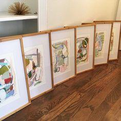 "Fresh little bamboo framed set from the ""juxtaposition"" series headed to @shopestablishment this week"