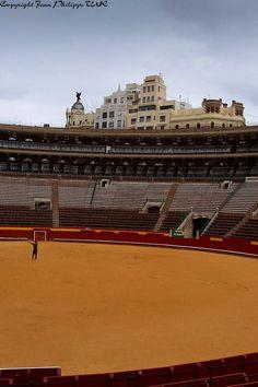 Plaza de toros de Valencia, Valencia, Spain..