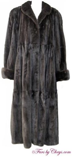 19f4964167e6f Ankle Length Ranch Mink Swing Coat Size Range  Misses 10 - 18 Average or  Tall or Mens 40 - 42 Regular or Tall