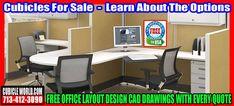 Cubicles For SalesBy Cubicleworld.com The Leading Manufacturer Of Cubicles, Workstations, Office Chairs, Desks, Office Furniture Repair & Installation.