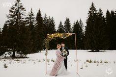 Industrial Winter Wedding / Nuntă industrială de iarnă - Sedință foto inspirațională - PAPIRA Copper Decor, Winter Bride, Industrial Wedding, Wedding Photoshoot, Event Design, Wedding Details, Real Weddings, Artist, Style