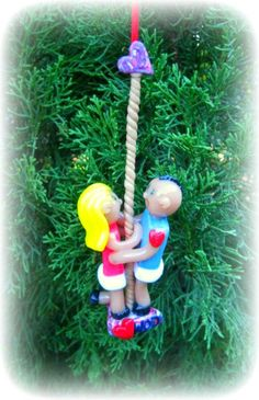 CrossFit Couple Memory Ornament