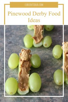 Check out these 17 Pinewood Derby food ideas for kids! Made with everything from candy bars, rice krispies treats, and teddy grahams to fruit, celery, and peanut butter, your Cub Scouts will love them. Serving fun food will turn your Pinewood Derby into a cool party for the entire family. #PinewoodDerby #CubScouts #CubScout #Scouting #Webelos #ArrowOfLight #CubScoutIdeas Cub Scout Activities, Activities For Boys, Rice Krispie Treats, Rice Krispies, Fun Food, Good Food, Arrow Of Lights, Teddy Grahams, Scout Leader