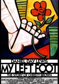 Poster for ''My Left Foot''.