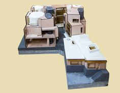 Peter Salter Walmer Yard model Yard, Mansions, Architecture, House Styles, Projects, Home Decor, Collage, Houses, Models