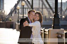 downtown denver wedding engagement