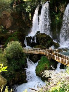 Wonderful Waterfall , Sivas , Turkey