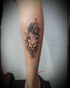 Tattoo Leão da Promo Obrigada Denise Snap mansurtattoo whats 51 8406.5684 #tattoo #tattoos #tatuagem #tattoogirl #tatuagens #blacktattoo #tatuada #tattooblack #tattoowoman #leaotattoo #tatuagemleao #Leão #liontattoo #tatuagemfeminina...